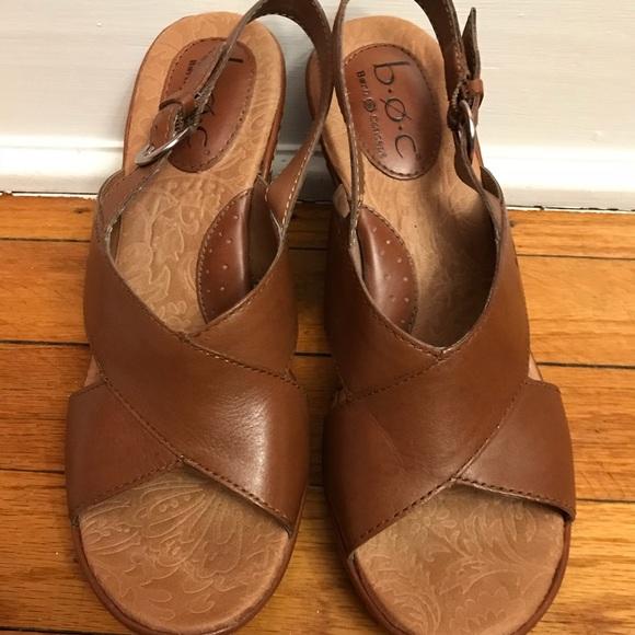 bd4c5385103 b.o.c. Shoes - b.o.c. Schirra wedge heel brown